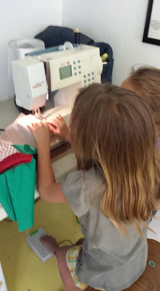 lily sewing